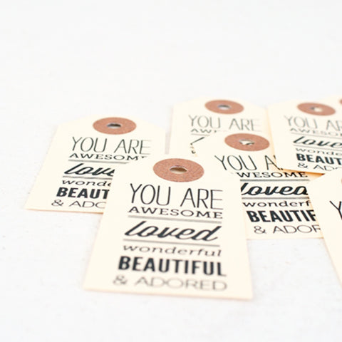 """You Are"" Paper Gift Tag Pack"