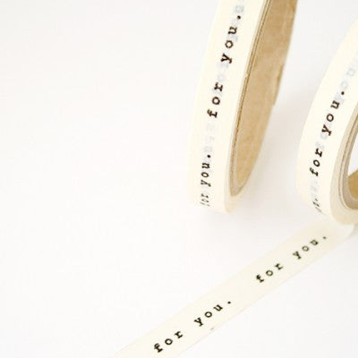 OHF Masking Tape, For You
