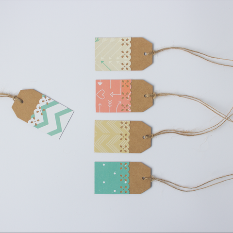 Handmade Gift Tags - Tribal