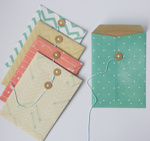 Handmade Envelopes - Tribal