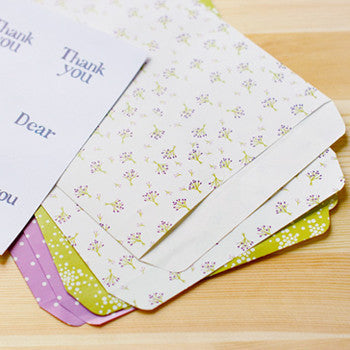 Dailylike Gift Bag Envelopes - Bouquet (6pk)