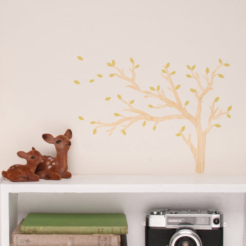 Mini Build a Tree Fabric Decal