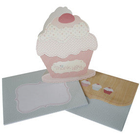 hiPP Little People Cupcake Thank You Cards