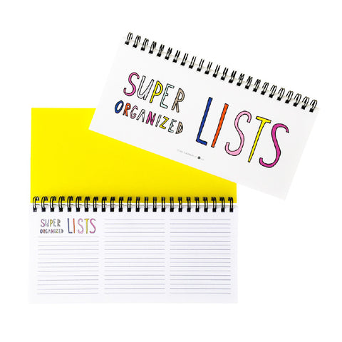 Beautiful Chaos Super Organized Lists Maker