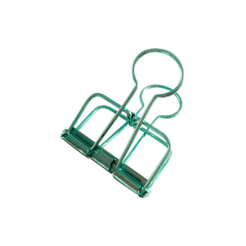 Binder Clips (M) - Mint