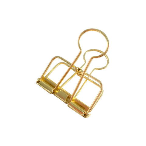 Binder Clips (M) - Gold