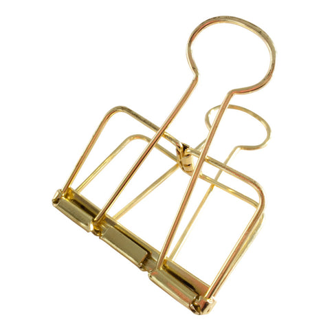 Binder Clips (XL) - Gold