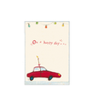 Maileg Gift Card - Car with Candle