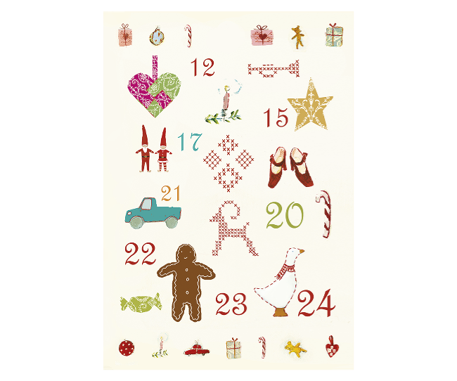 Maileg Postcard - Christmas Motives