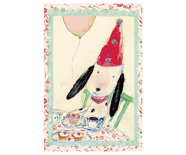 Maileg Card - Dog