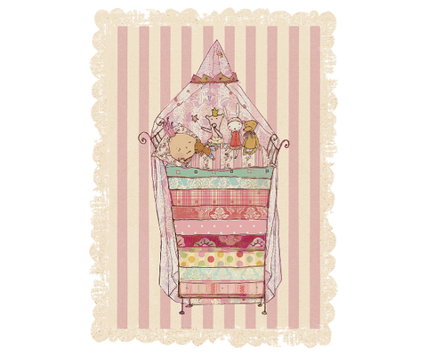 Maileg Postcard - Princess And The Pea