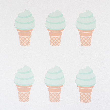 Ice Cream Wallstickers
