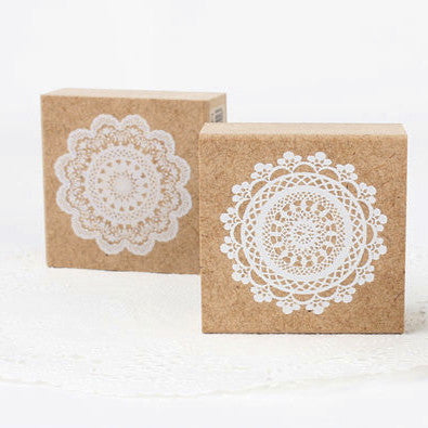 Lovely Lace Stamp