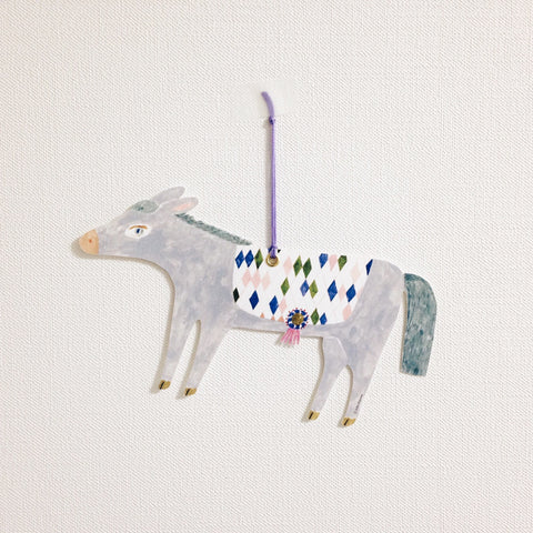 ai. by Aiko Fukawa Die-cut Card - Donkey