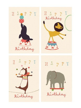 Maileg Happy Birthday Card - Circus