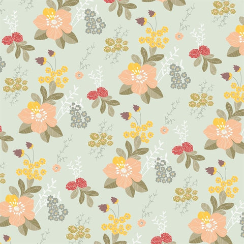 Love Mae Flower Garden Wrapping Paper