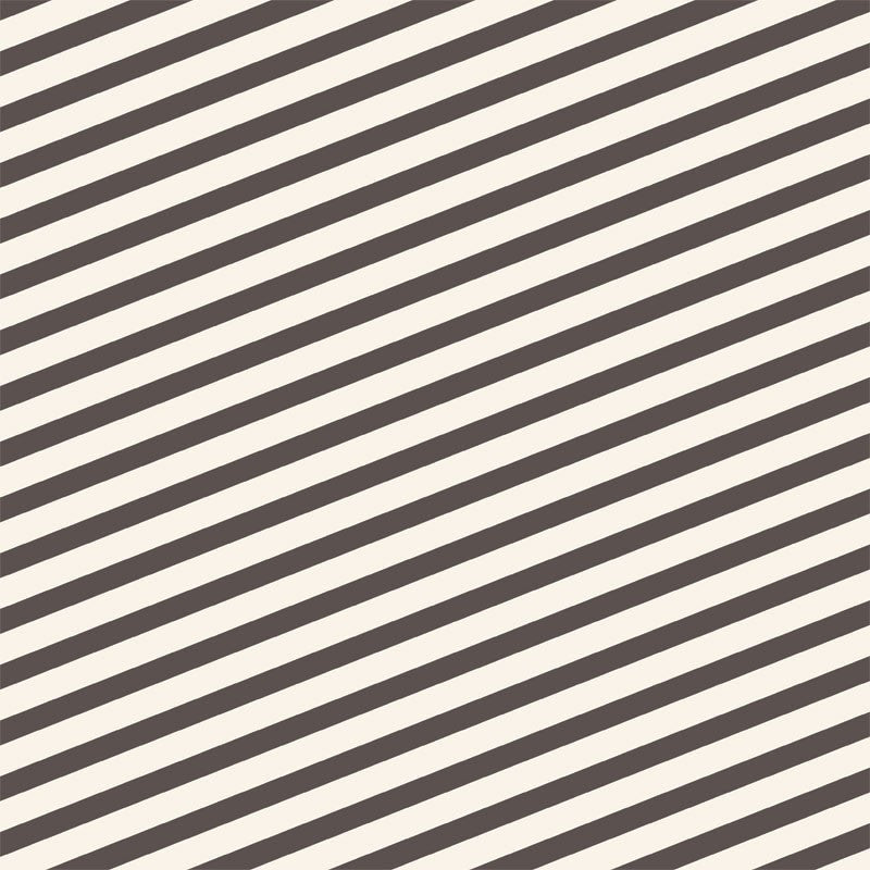 Love Mae Charcoal Stripes Wrapping Paper