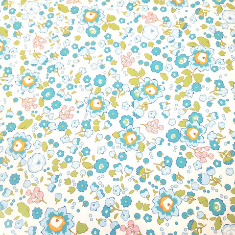 Floral Wrapping Paper - Blue Belle
