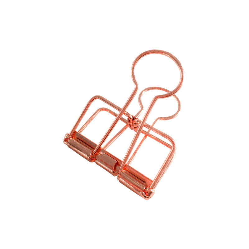 Binder Clips (M) - Copper