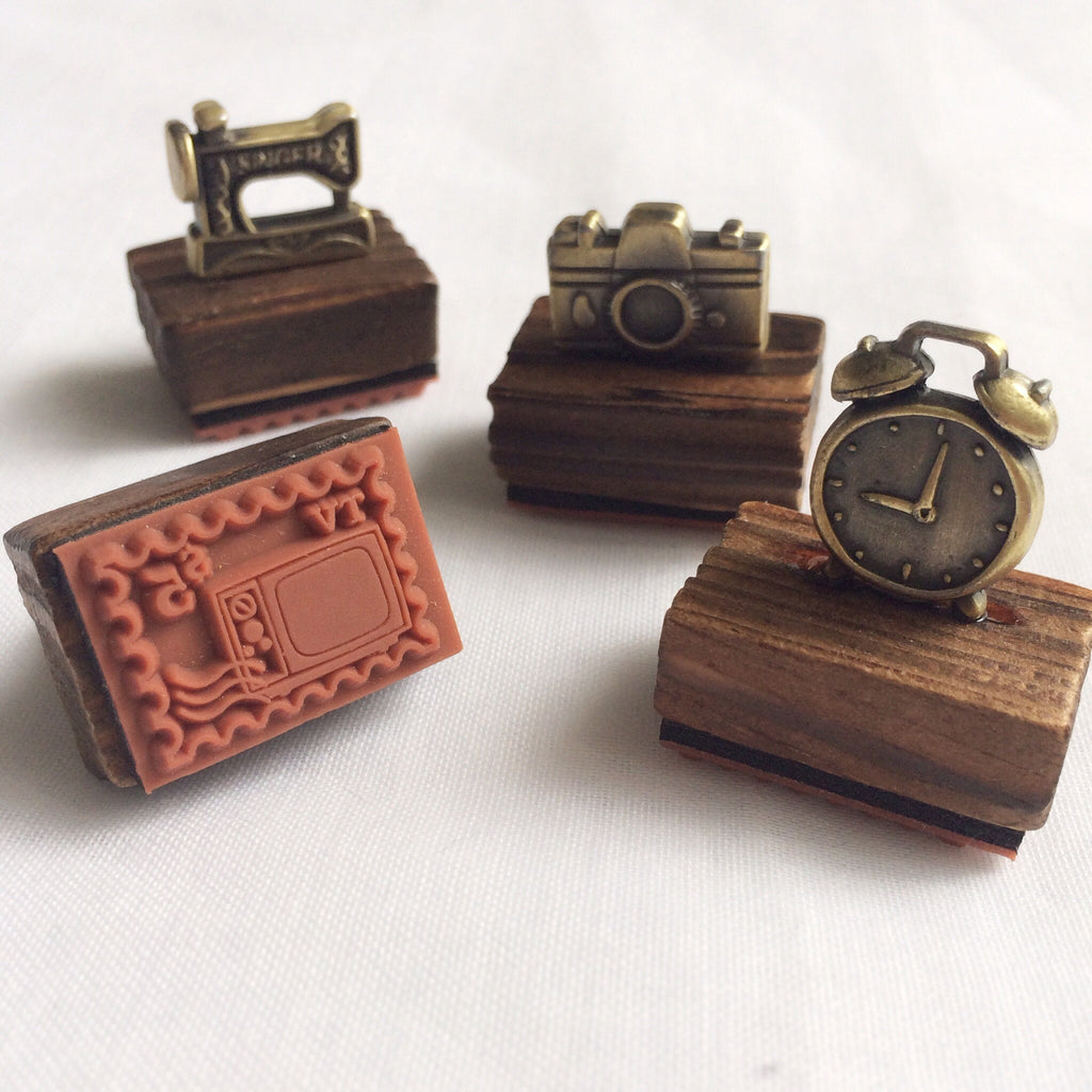 Mini Vintage Wooden Stamps