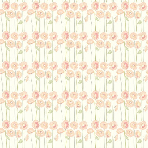 Love Mae Long Stem Posies Wrapping Paper