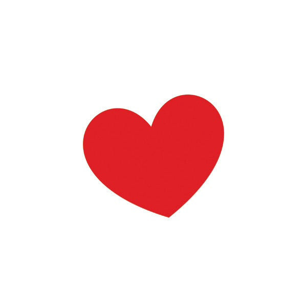 Tattly Tattoo - Classic Red Heart