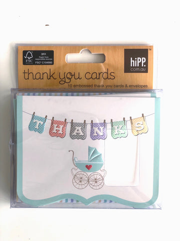 hiPP Baby Shower Thank You Cards