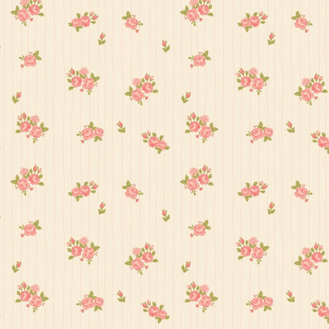Love Mae Pink Posies Wrapping Paper