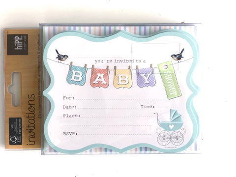 hiPP Baby Shower Invitation Kit