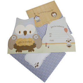 hiPP Little People Owl Invitation Kit