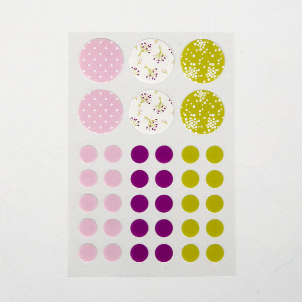 Masking Stickers - Bouquet
