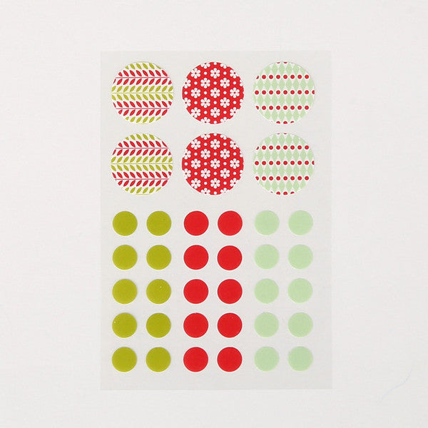 Masking Stickers - Daily Christmas