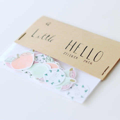 Craft Makes Smile - A Little Hello Sticker Pack