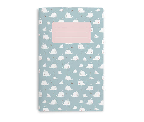 Eef Lillemor Notebook - Giant Whale