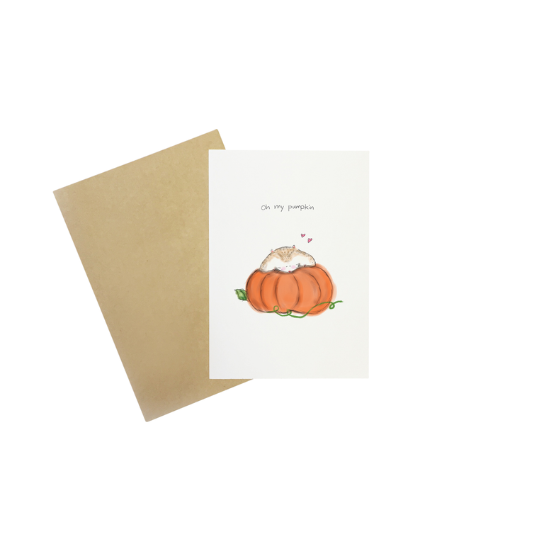 Little Sketchy Oh My Pumpkin Card