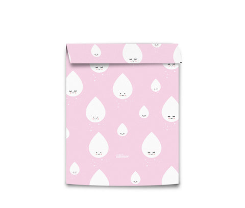 Eef Lillemor Wrapping bags Medium - Pink Drops (5pk)