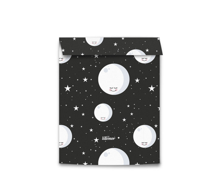 Eef Lillemor Wrapping bags Medium - Moon (5pk)