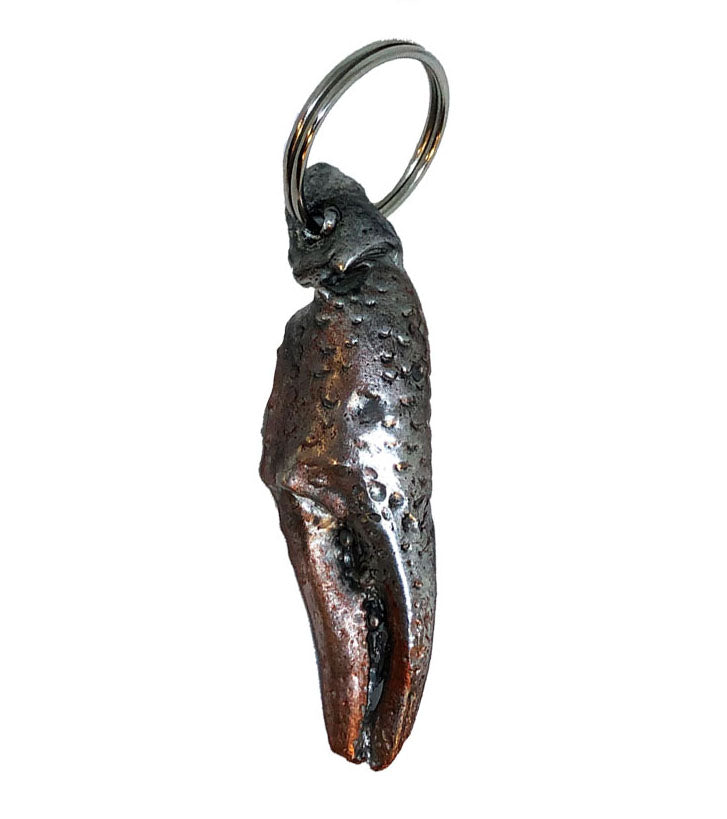 Steamboat Bills seafood restaurant crawfish claw keychain by candice alexander louisiana artist