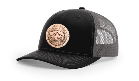 TOPO BUFFALO CIRCLE - TRUCKER