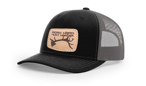 WORK HARD. HUNT HARDER. - TRUCKER