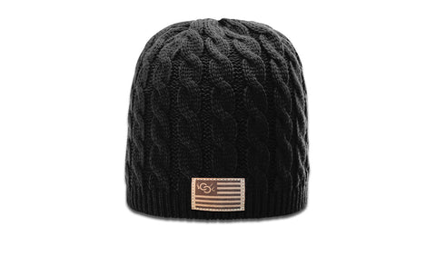 CCCD | CC ANTLER FLAG - WOMEN'S CABLE KNIT
