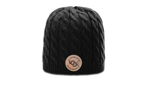 CCCD | CC BRANDED CIRCLE - WOMEN'S CABLE KNIT