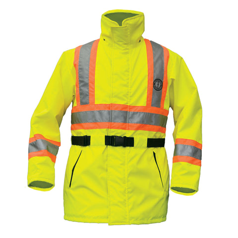 CSA Z96-2009 High Visibility Flotation Coat