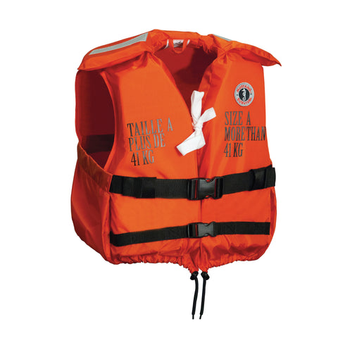 small vessel life jacket