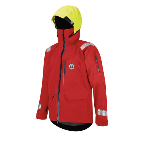 MJ3510 Meris Waterproof Jacket Red