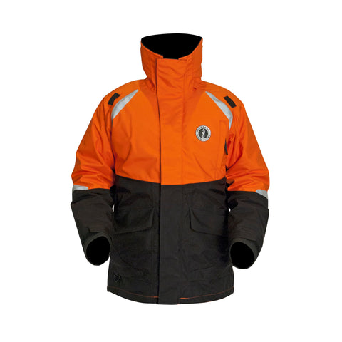 catalyst flotation coat harmonized orange front