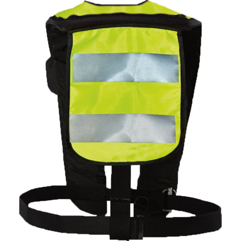 MD3153T3 HIT™ High Visibility Inflatable PFD (Auto Hydrostatic) Fluorescent Yellow Green