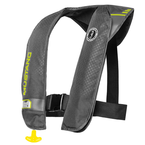 MD201702 M.I.T. 100 Automatic Inflatable PFD Grey-Fluorescent Yellow Green