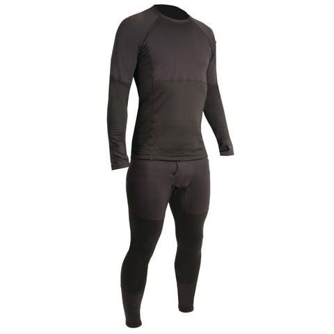 MSL603 Thermal Base Layer Midweight Bottom Black