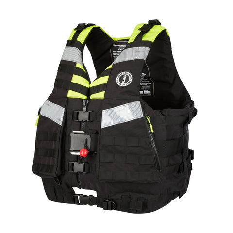 MRV15002 Universal Swift Water Rescue Vest (MRV150V02) Fluorescent Yellow Green-Black